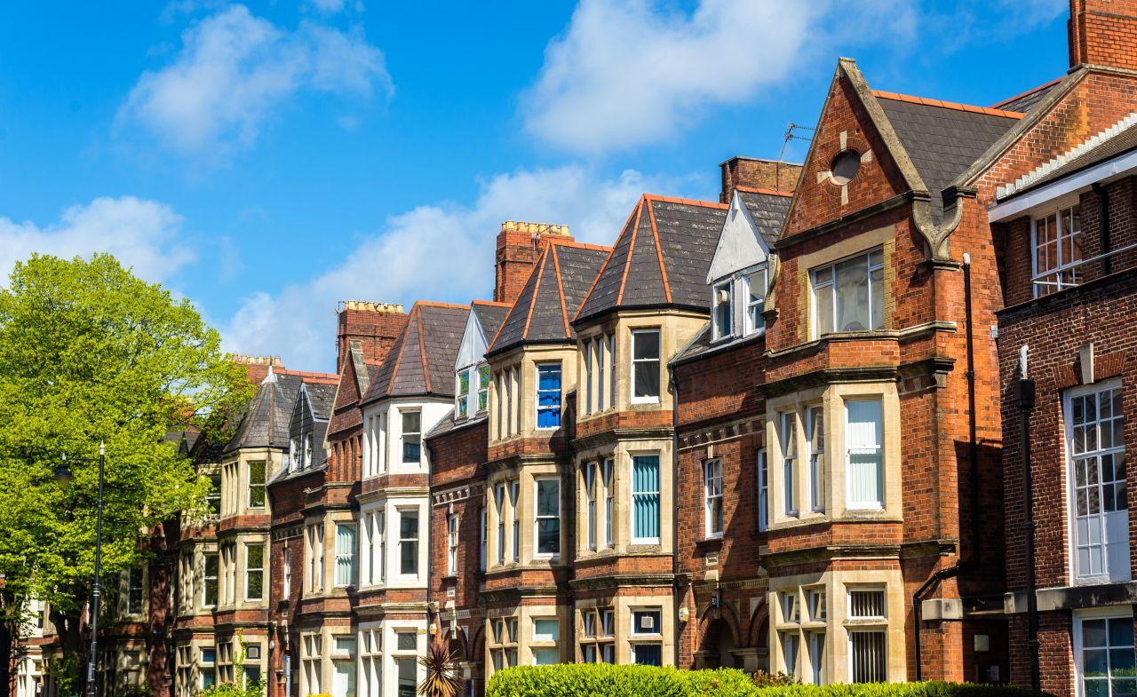 Studentské ubytování v Anglii
